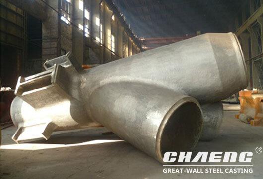 cast steel nodes for construction