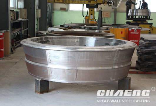 vertical mill roller shell