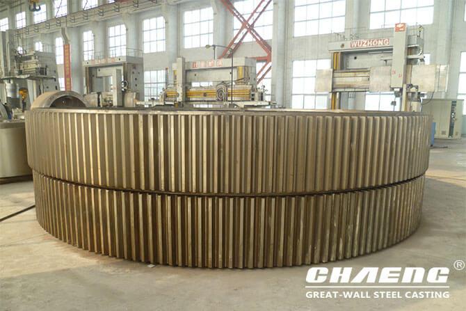 rotary kiln girth gear