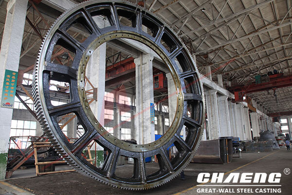 girth gear of rotary kiln
