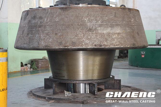 vertical mill grinding roller