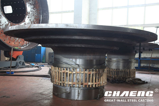 ball mill end caps