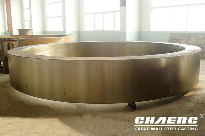 rotary kiln riding ring