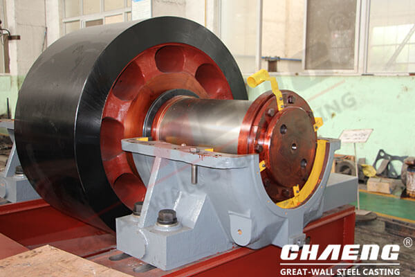 support roller for kiln