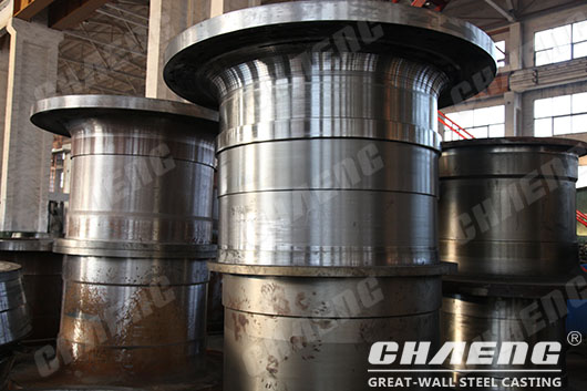 coal mill trunnion production