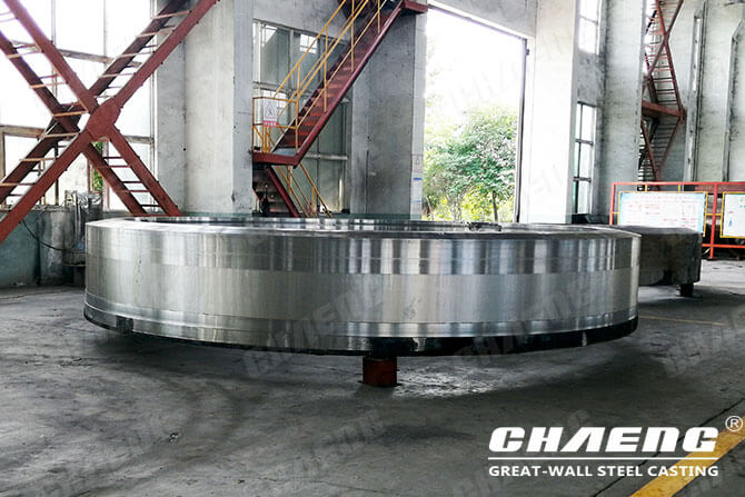rotary kiln tyre cast steel material