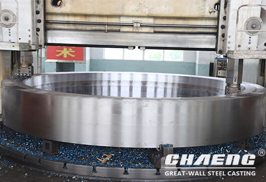 rotary kiln riding ring manufacture