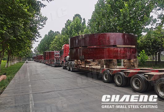 rotary kiln riding ring delivery