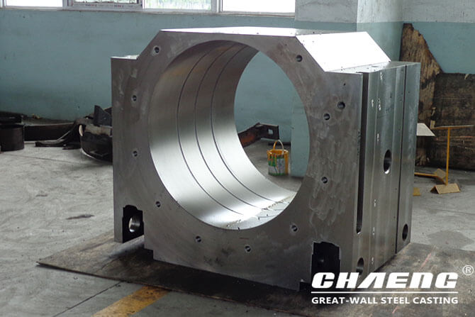 rolling mill gearing chock