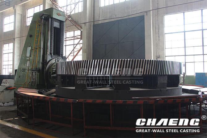 girth gear manufacture