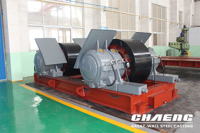 rotary kiln trunnion rollers