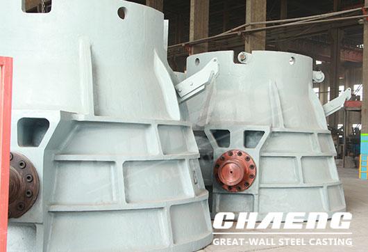 cast steel slag pot