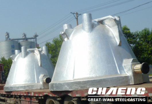 CHAENG cast steel slag pot