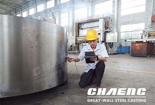heavy steel casting manufacturer CHAENG