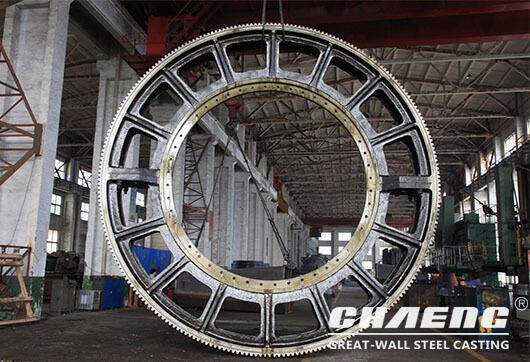 casting girth gear manufacturer