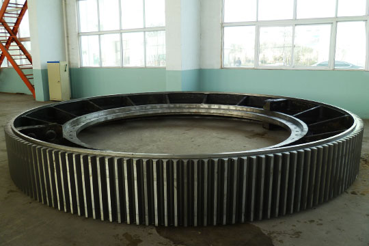 ball mill gear ring